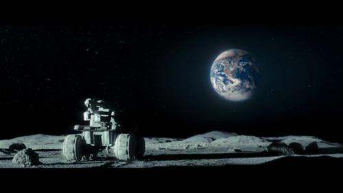 تصویری رویایی از زمین از فراز ماه، از این دست تصاویر ، کم در ماه دیده نمیشود
