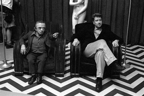 دیوید لین (راست) و مایگل جی. اندرسون