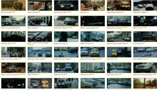 نمایی از بخشیاز ماشینهایی که در فیلم «برتری بورن» نمایش داده شدهاند