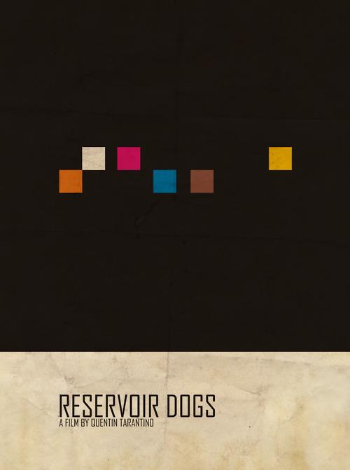 پوستر مینیمال فیلم سگ دانی اثر جیمز هتلی