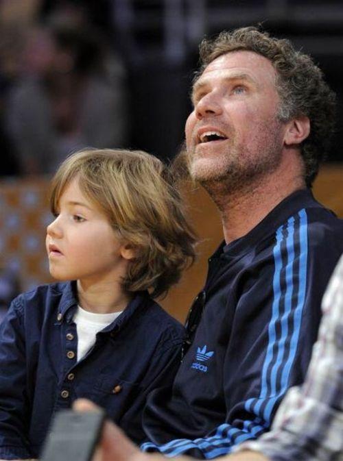 ویل فرل و پسرش متیس