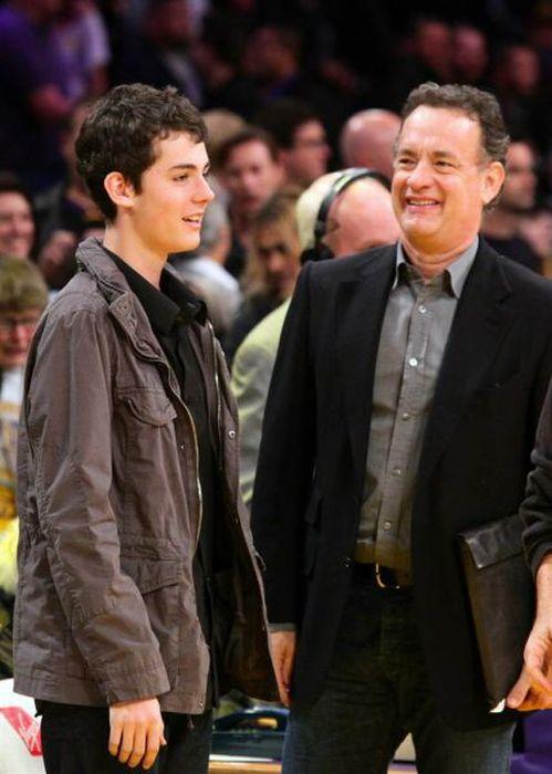 تام هنکس و پسرش ترومن