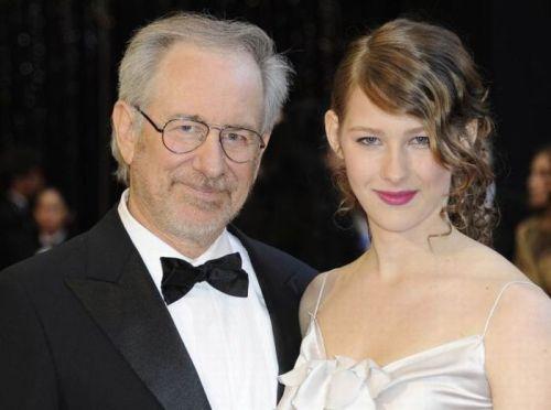استیون اسپیلبرگ و دخترش دسترس الین