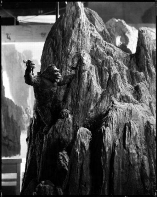 ماکتی از فیلم کینگکنگ 1933